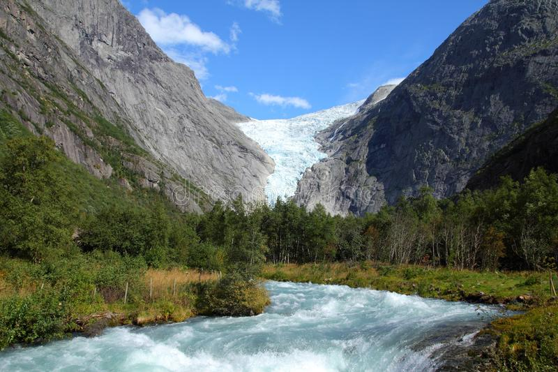 Norge nationalpark arkivbild