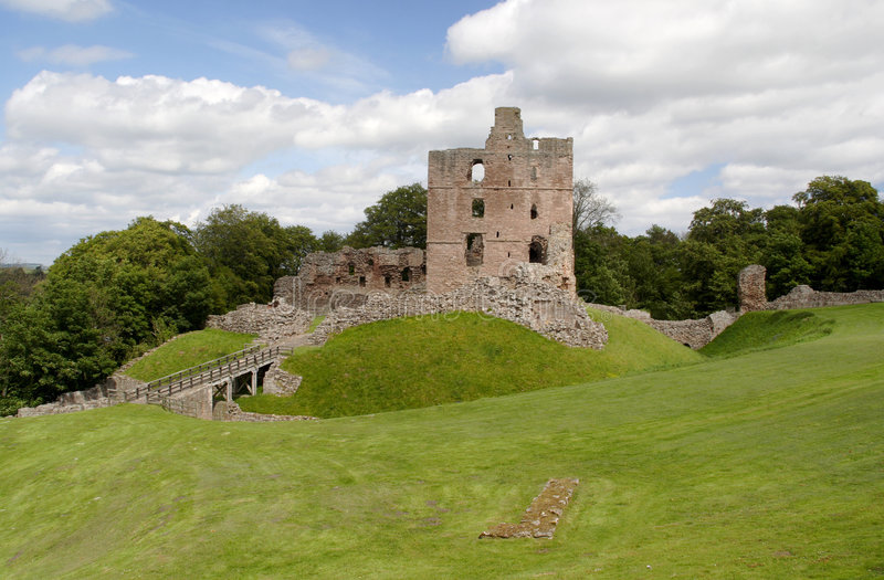 Norham Castle royalty free stock photography