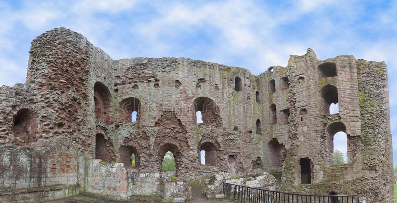 Norham Castle stock images