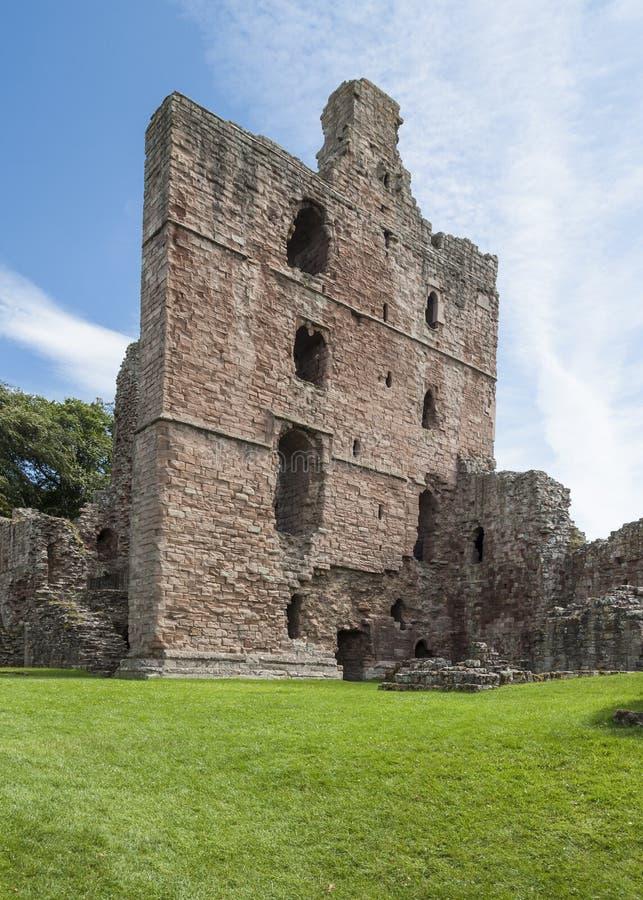 Norham Castle. stock images