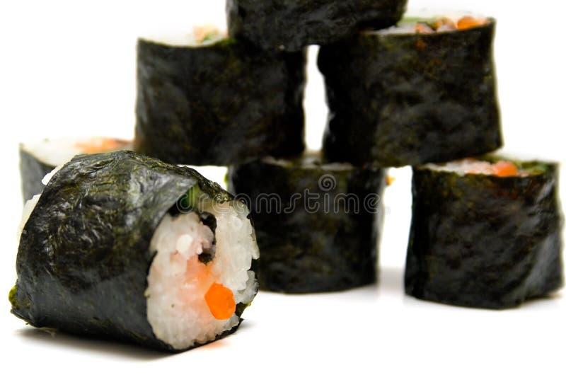 nori寿司白色 库存图片