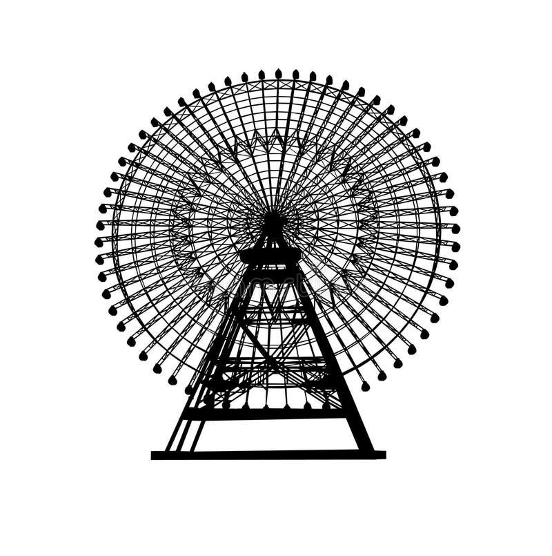 Noria ilustración del vector