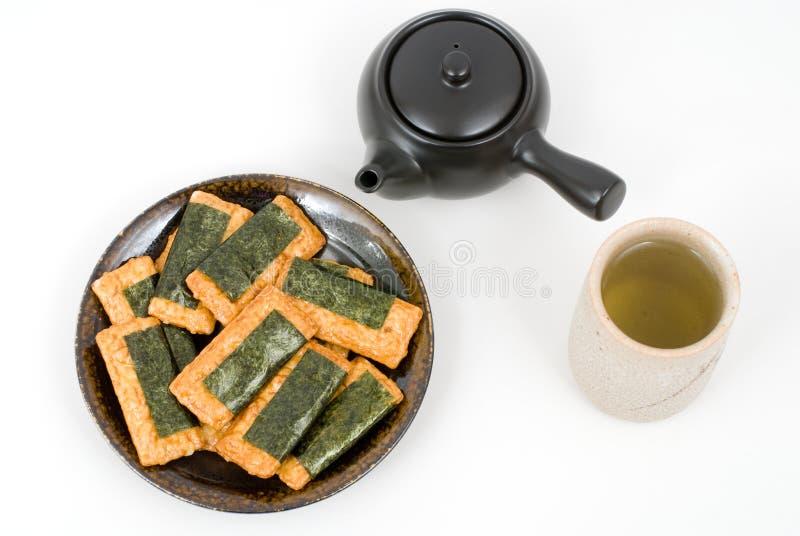 Norimaki-senbei fotografie stock