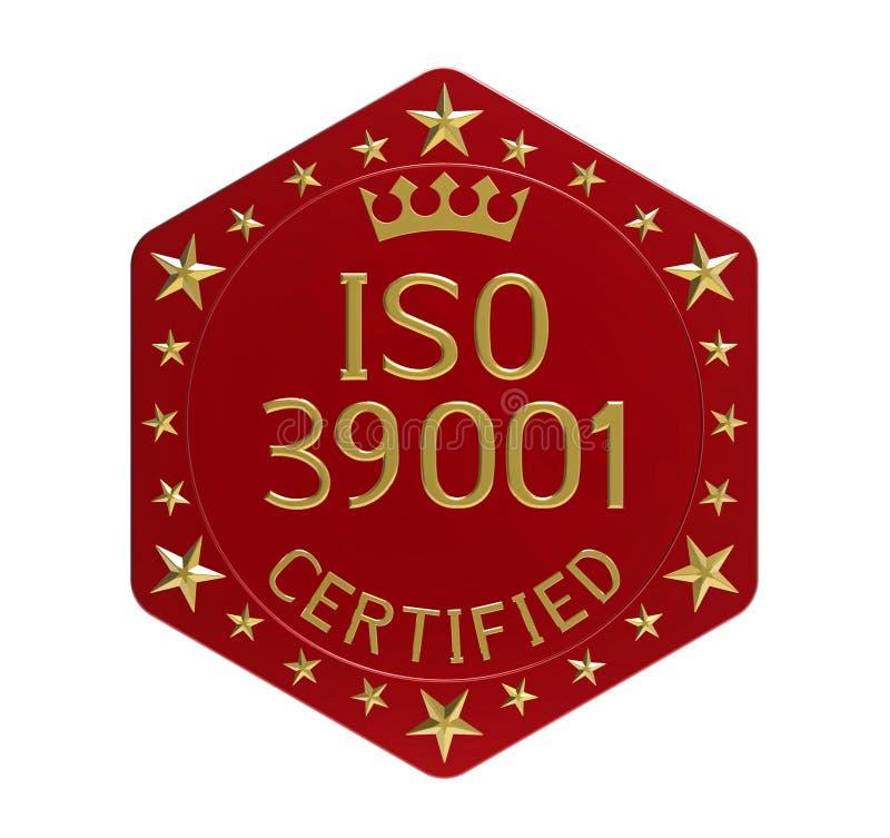 Norma ISO 39001 royalty ilustracja