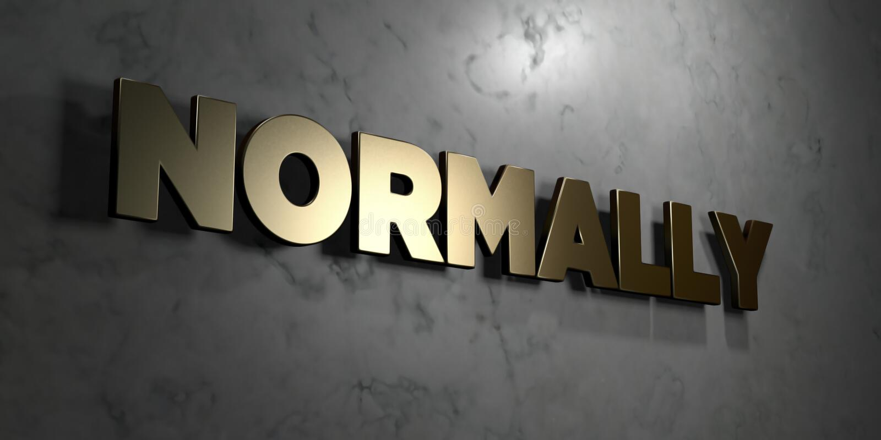 Normaler Weise