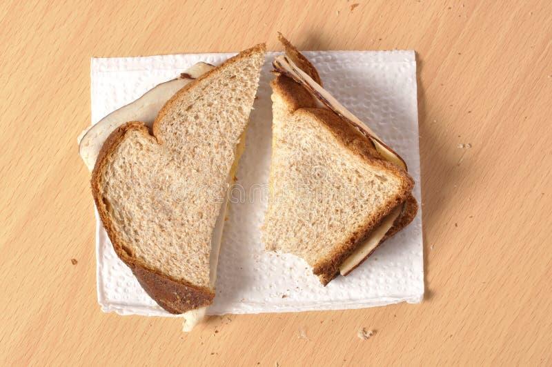 Normales lunchmeat Sandwich lizenzfreie stockfotografie