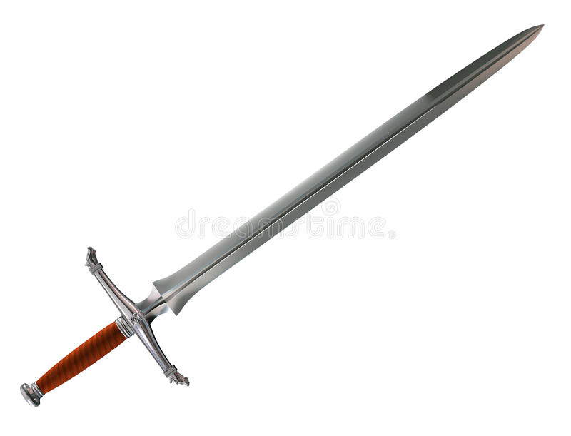 Download Norman battle sword stock illustration. Illustration of ornate - 10106709