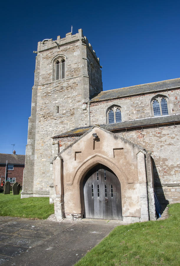 Norman Church em Yorkshire do leste fotos de stock royalty free