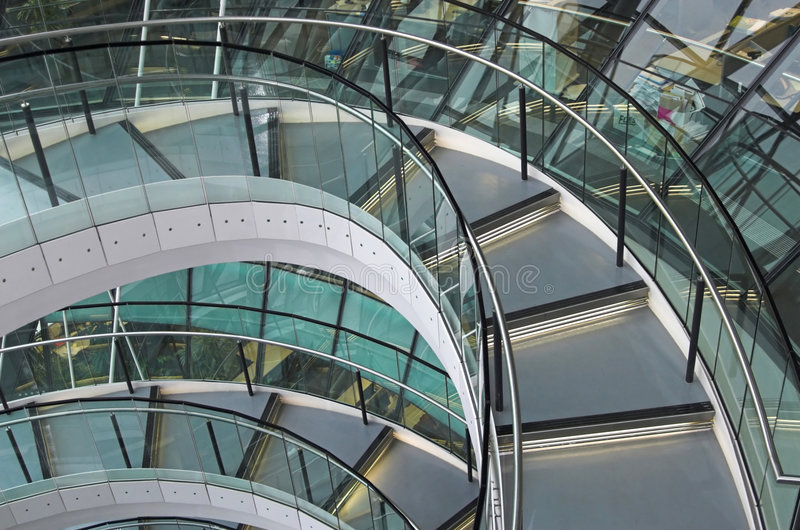 Norman Foster's City Hall in London. stock photo