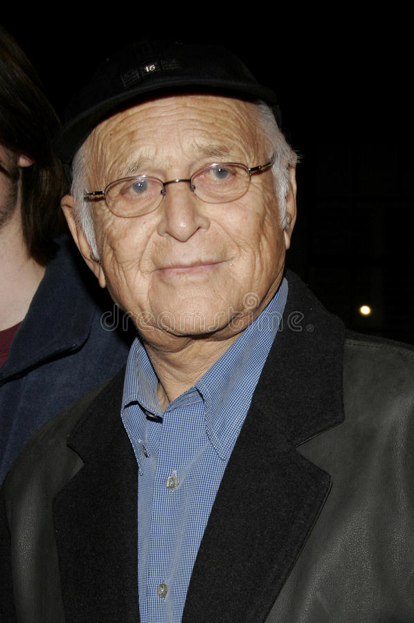 Norman Lear. HOLLYWOOD, CALIFORNIA. February 7, 2006. Norman Lear attends the Los Angeles Premiere of Neil Young: Heart of Gold held at the Paramount Pictures stock images