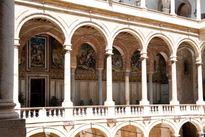 Norman Palace - Palermo imagen de archivo