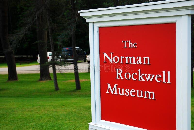 Norman Rockwell Museum in Stockbridge, Massachusetts royalty-vrije stock afbeeldingen