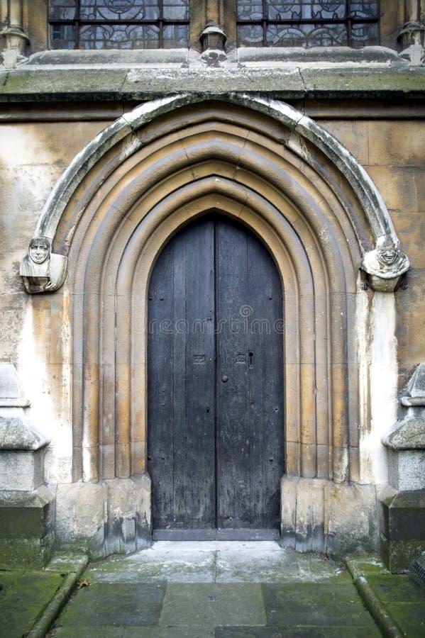norman Westminster abbey drzwi fotografia royalty free
