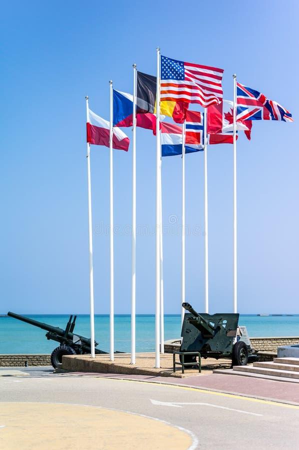 Normandia royaltyfria bilder
