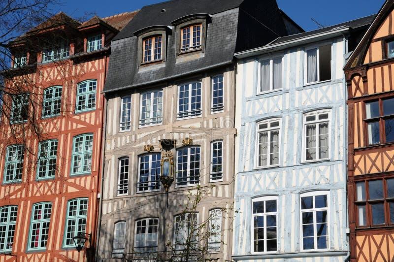 Normandie, η γραφική πόλη του Ρουέν στοκ φωτογραφίες με δικαίωμα ελεύθερης χρήσης