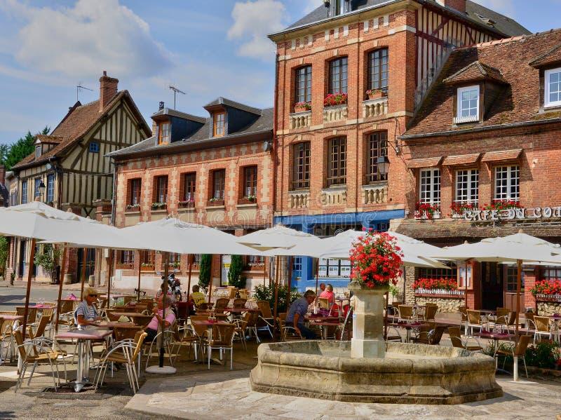 Normandie la ville pittoresque de la la foret de lyon photo stock ditorial image du - Office du tourisme lyons la foret ...