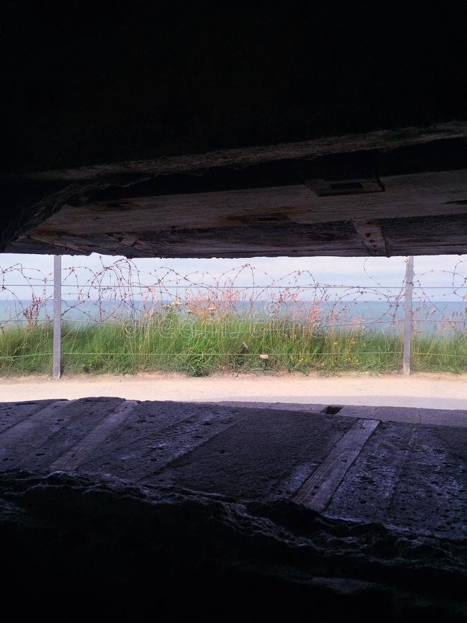 Normandie - vista fotografia stock libera da diritti