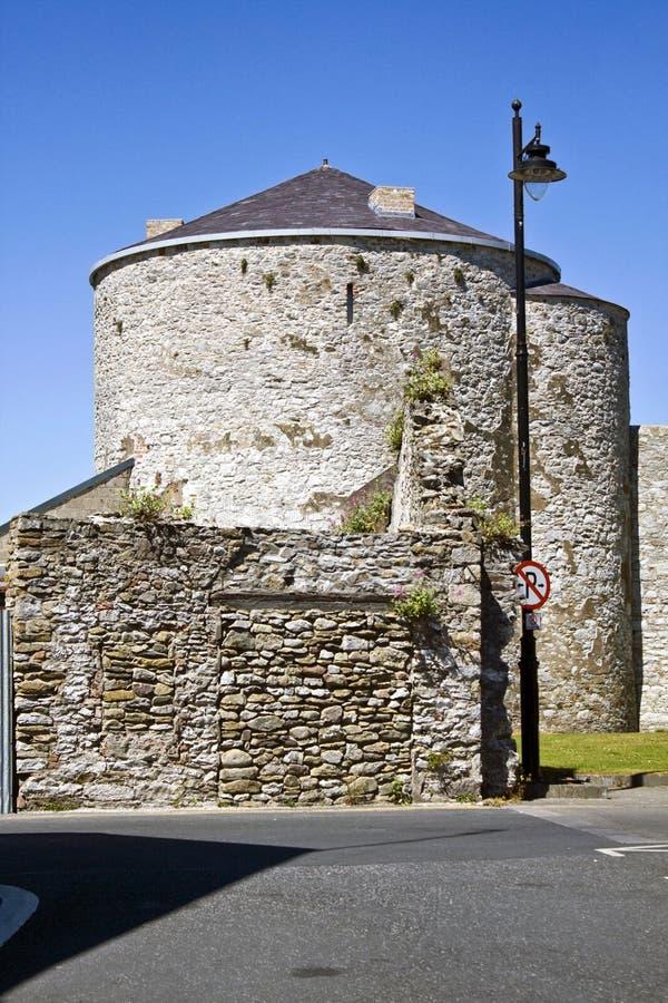 Normando Castelo do rei John imagem de stock royalty free
