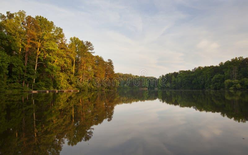 Normando do lago foto de stock royalty free
