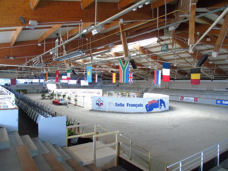 Normandy Horse Show. à Saint-L royalty free stock image