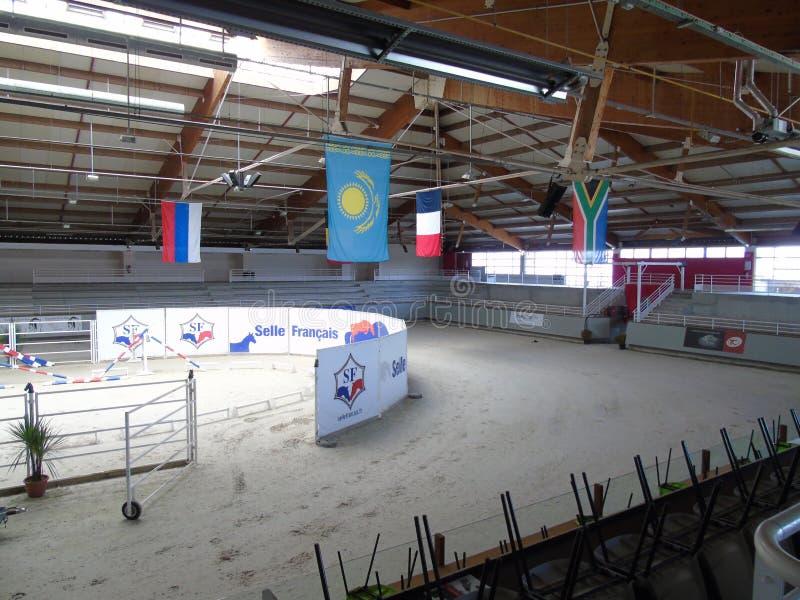 Normandy Horse Show. à Saint-L stock photo