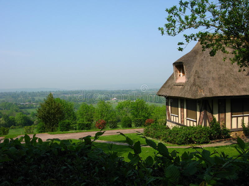 Normandy timber frame house