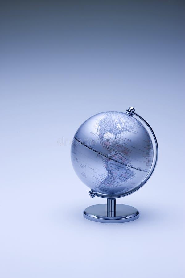 norr africa Amerika jordklot royaltyfri illustrationer