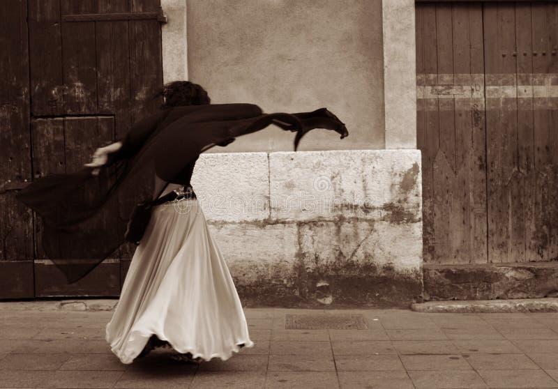norr afrikansk dansare arkivfoto
