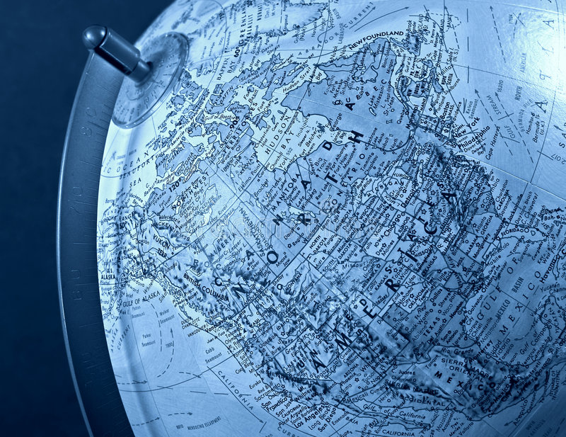 Download Norr Amerika arkivfoto. Bild av kontinent, översikt, rotation - 27780