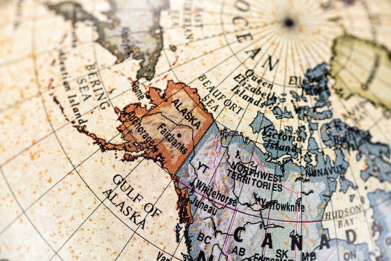 norr Amerika jordklot fotografering för bildbyråer