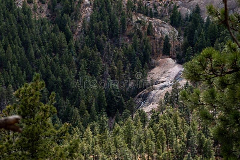 Norr cheyenne kanjonkanon Colorado Springs royaltyfri foto