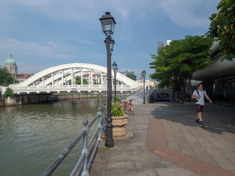 Norr fartygkaj, Singapore royaltyfri fotografi
