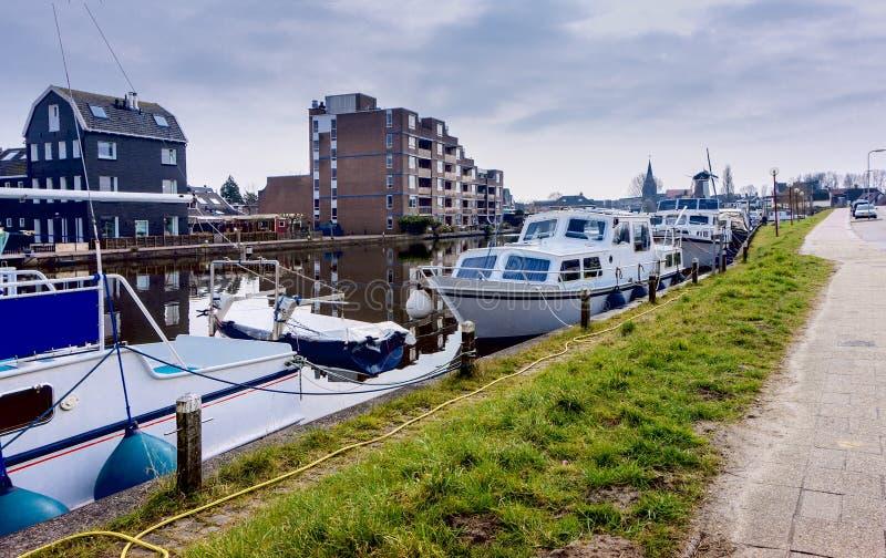 NORR HOLLAND/NEDERLÄNDERNA fotografering för bildbyråer