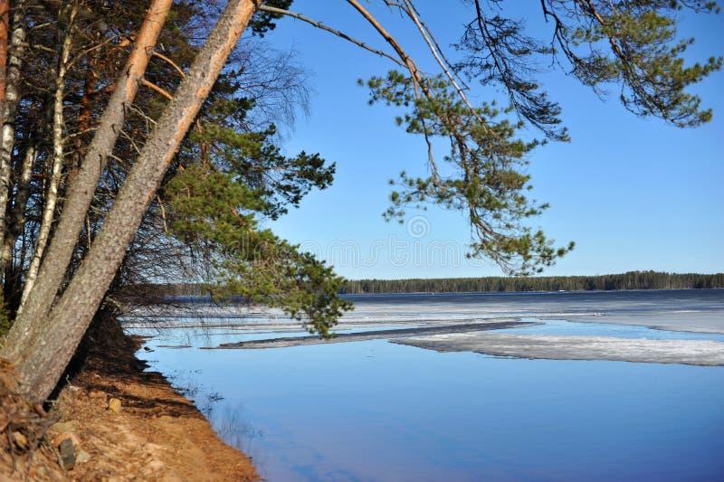 Norr landskap i Finland _ royaltyfria foton
