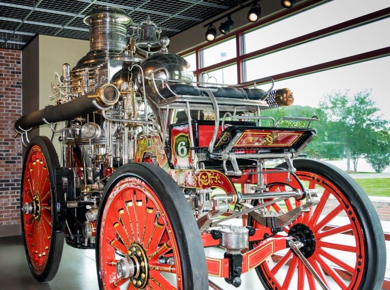 Norr museum för charleston- och amerikanLaFrance brand och utbildningsMitt-nord charleston, South Carolina arkivbild