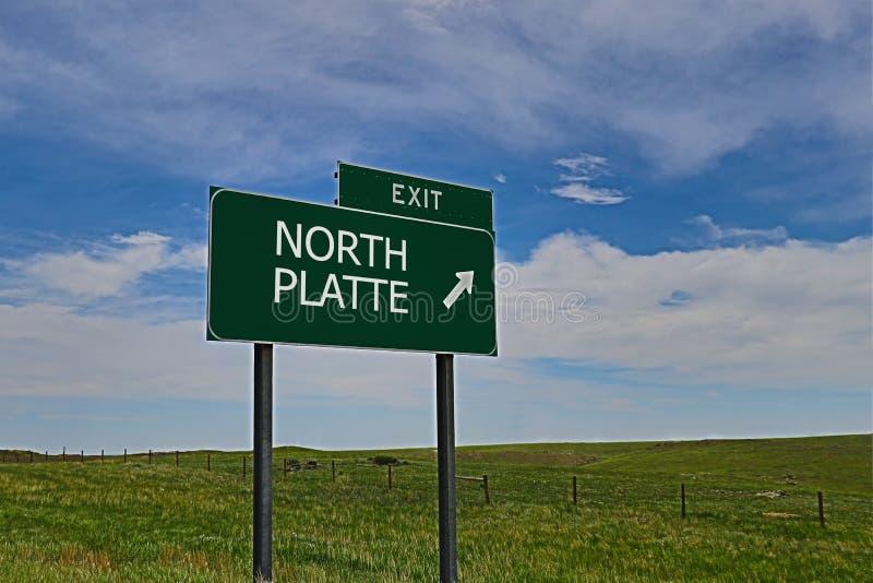 Norr Platte arkivfoton