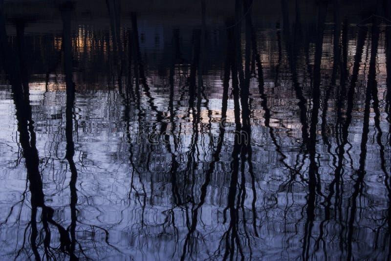 norr reflexion för bro arkivfoton