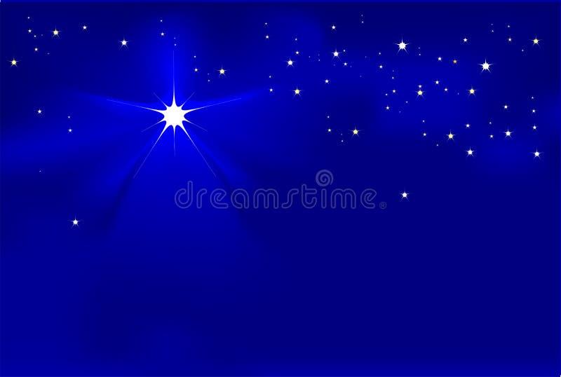 norr stjärna vektor illustrationer