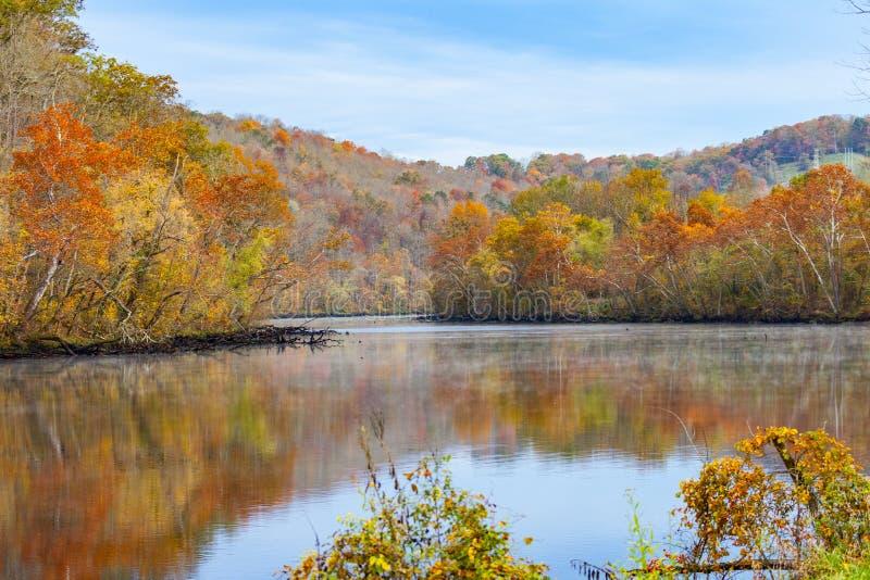 Norris Dam State Park royalty-vrije stock foto's