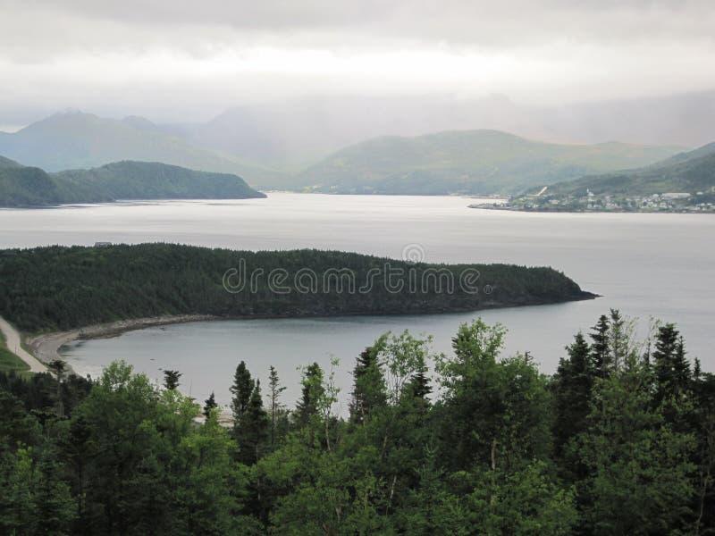 Norris Point - Newfoundland stock afbeeldingen