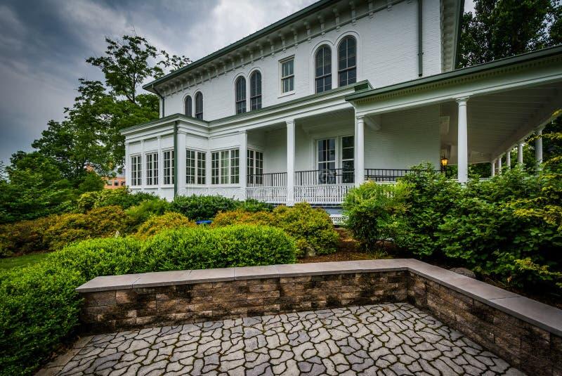 Norris Wachob Alumni House, på universitetsområdet av Gettysburg Coll arkivbild