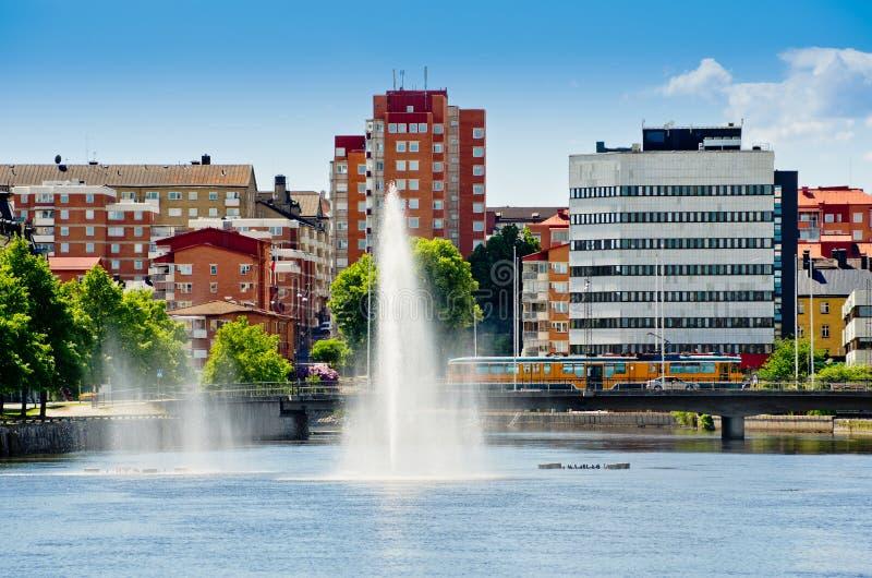 Norrkoping. Schweden stockfotografie