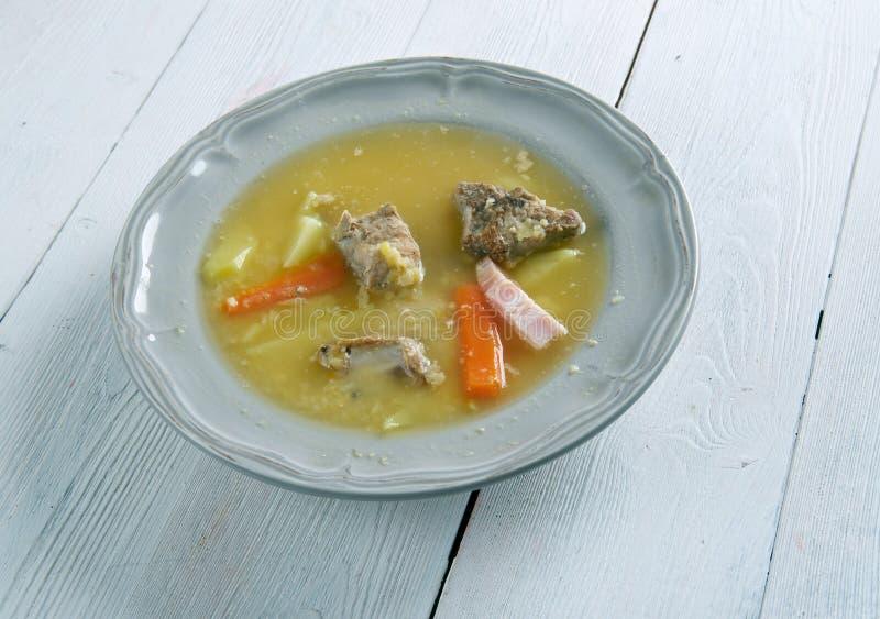 Norrman Pea Soup fotografering för bildbyråer