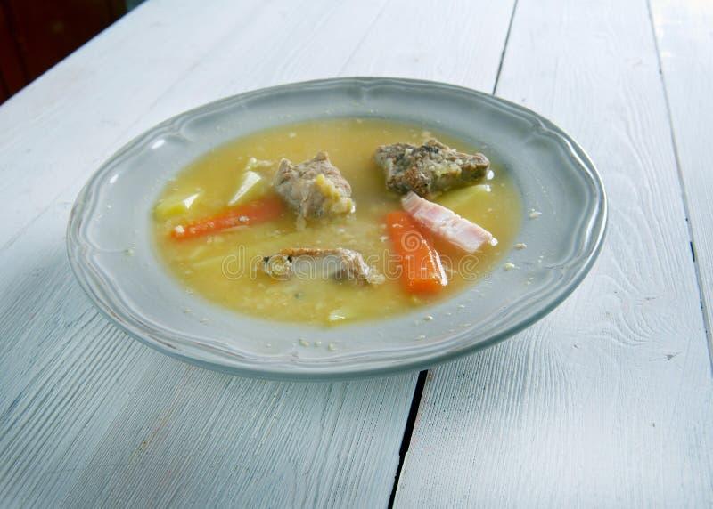 Norrman Pea Soup royaltyfri foto