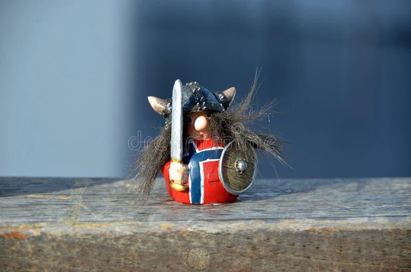 Norrman Viking royaltyfria bilder