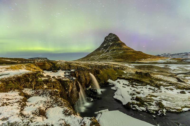Norrsken för nordligt ljus royaltyfria bilder