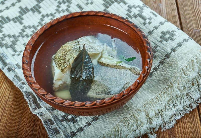 Norsk fisksoppa royaltyfria foton