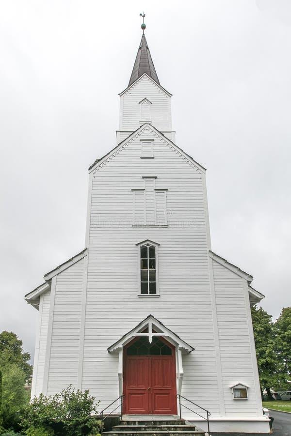 Norsk kirke royaltyfri bild