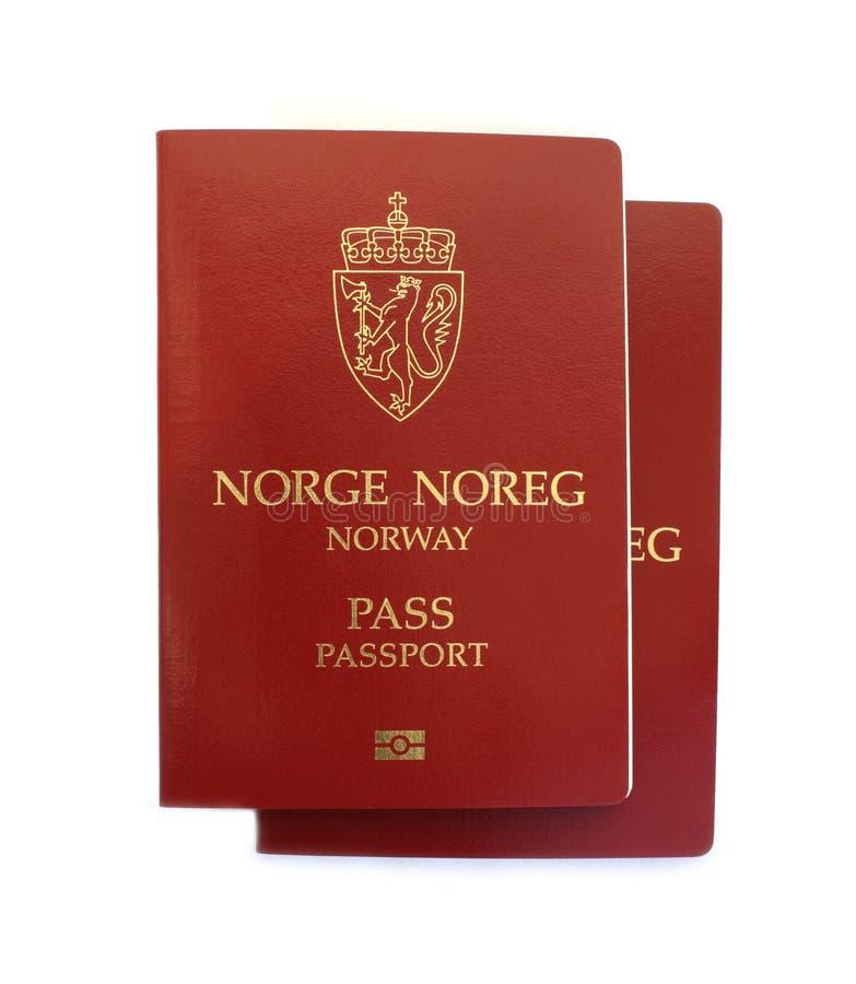 norska pass arkivfoto