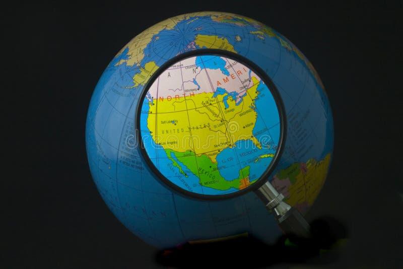 Norteamérica en foco imagenes de archivo